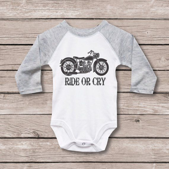 Black Baby Biker Baby Medium Sleepsuit