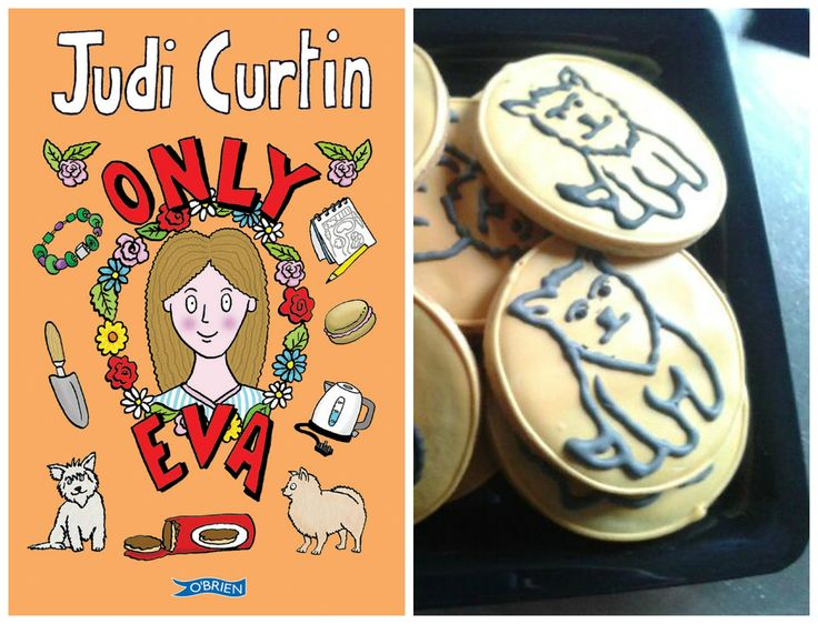 Only Eva inspired cookies - created by The Cake Cafe