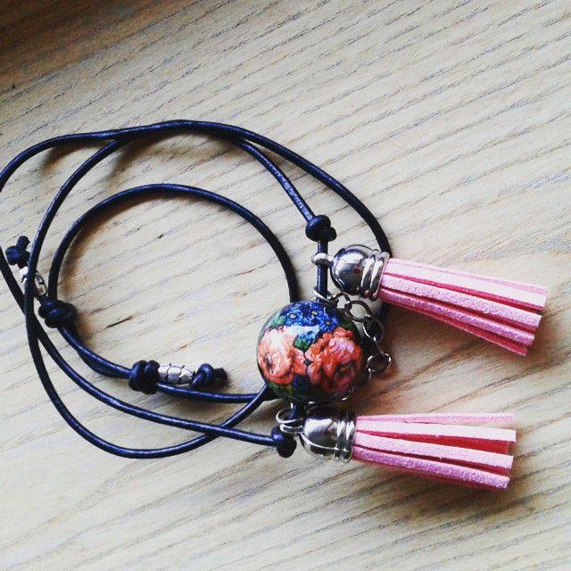 Naszyjnik i bransoletka w jednym  #folk & #boho #takie #nowosci #modniepodgiewontem #naskie