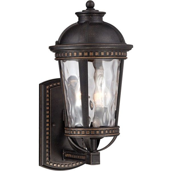 Lighting 8 pinterest john timberland provence 15h bronze outdoor wall light 100 liked on polyvore featuring home outdoors outdoor lighting brown outdoor yard lights mozeypictures Gallery