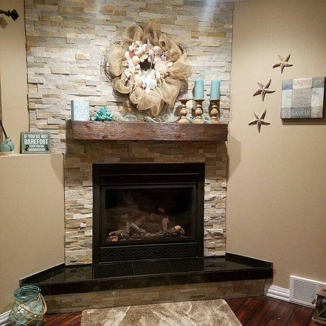 Fireplace Mantel 60 Long X 5 5 Tall X 5 5 Deep Reclaimed Style