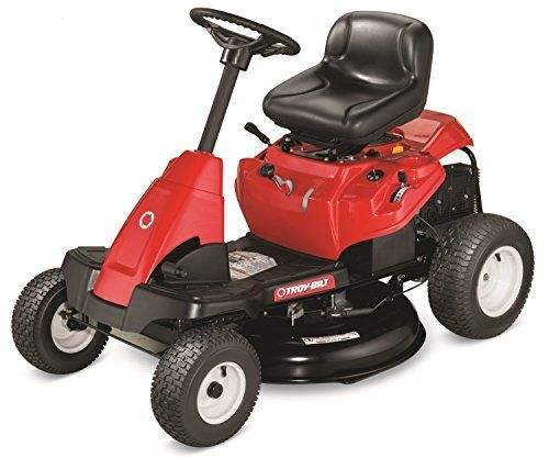 Troy-Bilt 382cc Riding Lawn Mower Review  The Best Small Riding Mower?