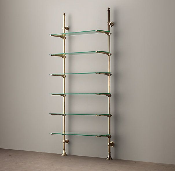 1930s French Bistro Shelving Beauty In Form Shelf It