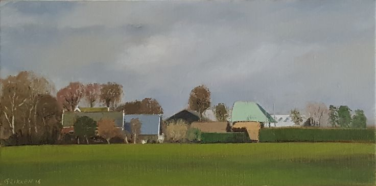 Farm at Gein (30 x 60 cm)