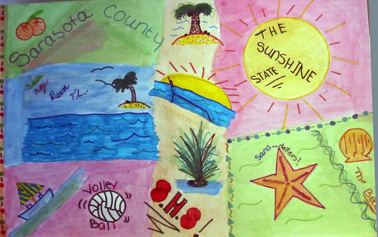 Artwork of Laurel Nokomis Middle School student Samantha Cipriani, 14, depicts the natural heritage of our Florida coastal community – the beaches, the creatures of the sea, and the flora and fauna of this beautiful sub-tropical place on the Gulf of Mexico. The Sister Cities artwork was displayed during the Hands of Heritage Fest at Robarts Arena in 2003