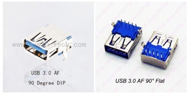 5pcs 10pcs Female Usb 3 0 Connector Socket Usb 3 0 Jack 90degree Dip For U Disk H Speed Data Transmission Curved Flat Mouth Review Usb Data Transmission Usb Flash Drive