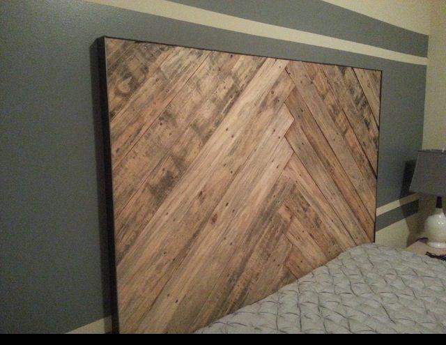 Best 25+ Wood pallet headboards ideas on Pinterest ...