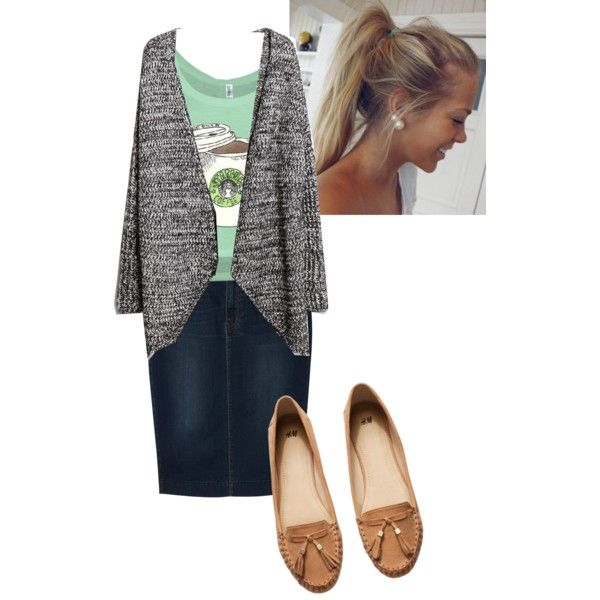 A fashion look from September 2014 featuring MANGO cardigans, Uniqlo skirts and H&M loafers. Browse and shop related looks.