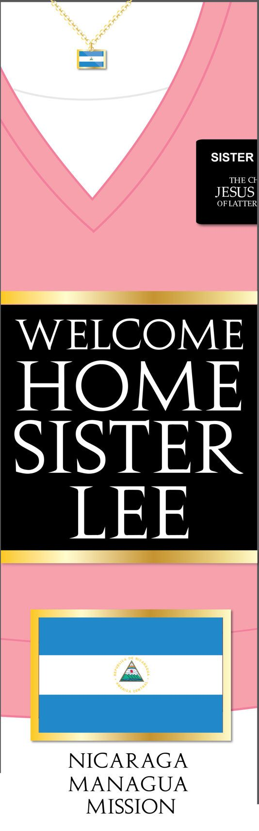 Posters for bedroom doors - Giant Lds Missionary Welcome Home Banner Poster Por Meckmom En Etsy