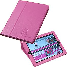 Support the McGrath Foundation by getting mum a pink iPad cover ($39.95)! The cover opens and folds around to create a stand for more comfortable viewing, and is suitable for all models of the iPad (excluding iPad mini). http://shoppink.mcgrathfoundation.com.au/prodetail.asp?proid=31311&tags%5b%5d=Work
