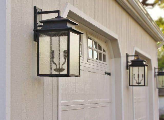 Lantern style exterior light fixtures high street market our new carriage house exteriors Exterior carriage house lights