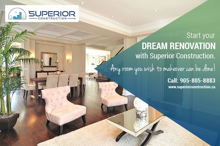 Start your Home Renovation with Superior Construction! We are one of the top Luxury Custom Home Builders Toronto, GTA!