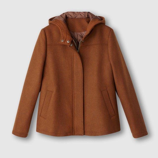 фото Пальто короткое,  50% шерсти R essentiel