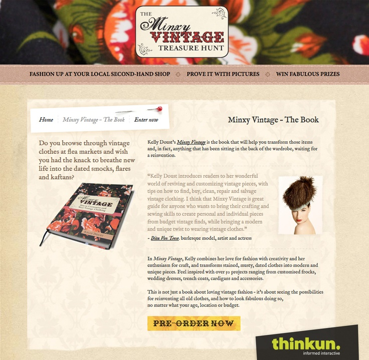 The Minxy Vintage Treasure Hunt competition