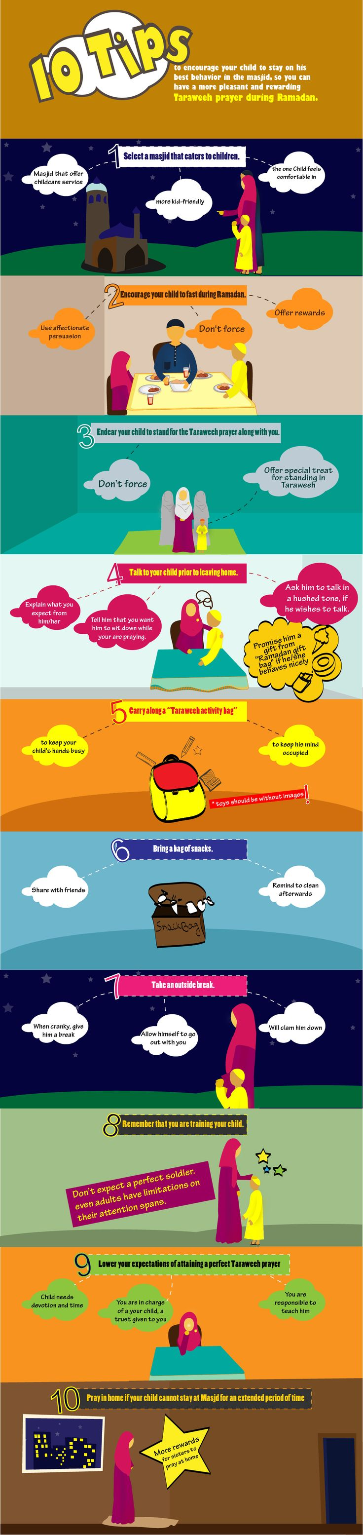 10 Tips to Child-Proof your Taraweeh this Ramadan