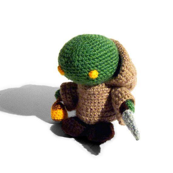 Sieh Dir Dieses Produkt An In Meinem Etsy Shop Https Www Etsy Com De Listing 607032967 Amigurumi Tonberry Aus Den Final Fantas Etsy Gifts For Techies Crochet