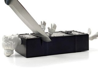 Sharp Act Knife Sharpener - eclectic - kitchen tools - by Fred & Friends
