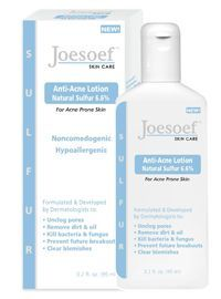 Joesoef Skin Care Sulfur Soap 10% is Pharmaceutical grade Medicated Soap that is FDA and Dermatologists approved for acne treatment.  Their Special formula Sulfur Soap also contains salicylic acid. http://www.wartalooza.com/treatments/over-the-counter-wart-removers