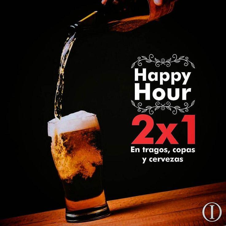 Vení y disfrutá de nuestro refrescante Happy Hour! 2x1 en tragos copas y cervezas. De lunes a jueves de 5:00 pm al cierre. #2x1 #ITALIANISSIMO #happyhour Aplican condiciones y restricciones.