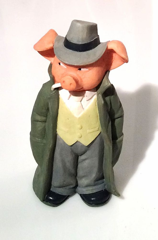 Danbury Mint Meet The Porkchesters Pig Collectibles P I