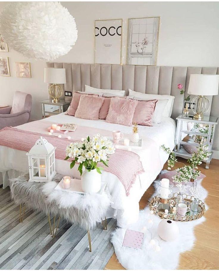 Wirklich fantastisches Schlafzimmer so süß und reizend girly girl style @roomf…