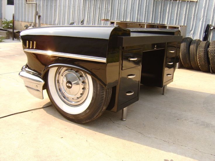 1957 Chevy Desk. Interested? Contact us at http://www.benniesfifties.com