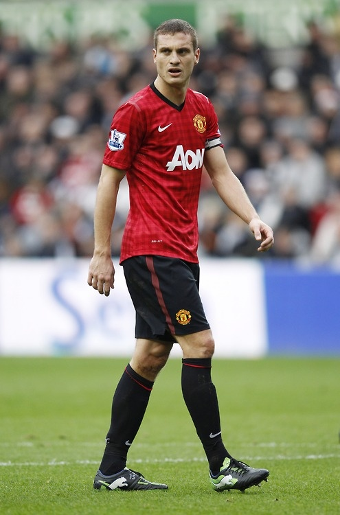 Nemanja Vidic, our captain!