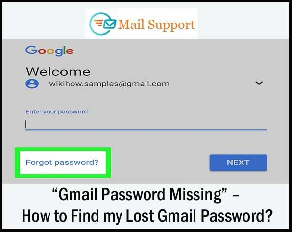 based find mail password web
