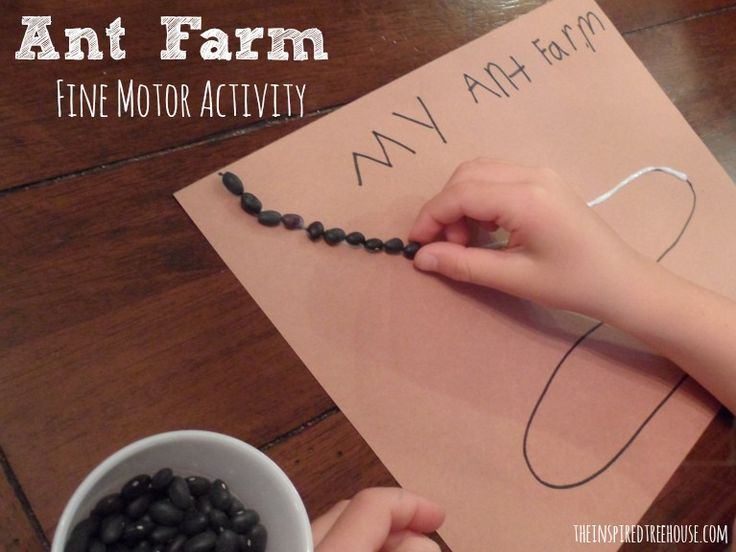 "fine motor activities: Letter A activity also helps little hands develop their ""super fingers"" in preparation for writing."