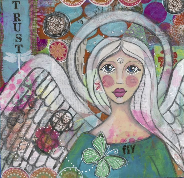 My SOUL WORK was born from my COURAGE to TRUST my CREATIVE WINGS and allow them to GROW.  As I painted I learned to LISTEN to my INTUITION and follow my HEART.  GRACE gives us that courage and my HOPE is that it INSPIRES YOU to BELIEVE in your DREAMS and follow your inner voice that is CALLING you to seek your SOUL PATH...