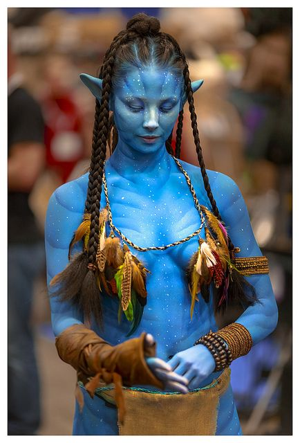 Aja Dang as Na'vi from Avatar   SDCC 2013 by John Truong #costumes #cosplay