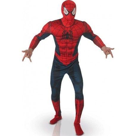 Déguisement Spiderman Luxe Adulte