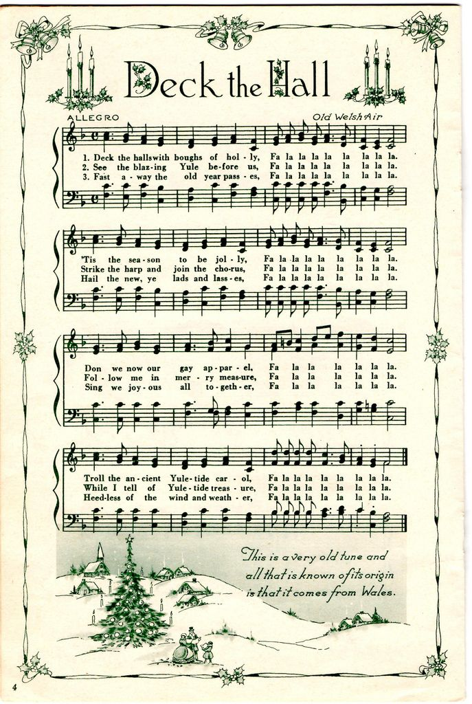 Sheet music to down load for crafts