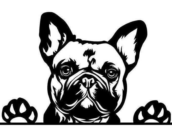 French Bulldog 29 Peeking Paws Cute Tongue Dog Breed K 9 Etsy In 2021 French Bulldog Art Bulldog Bulldog Art