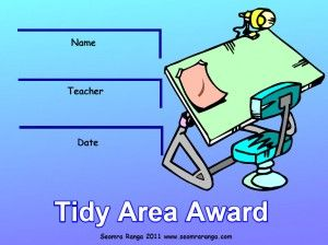 Tidy Area Award