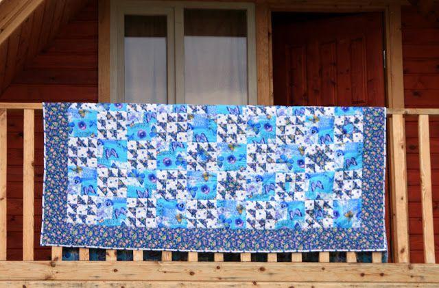 Лоскутное одеяло - подарок маме на день рождения