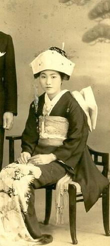 1880's Japanese bride.