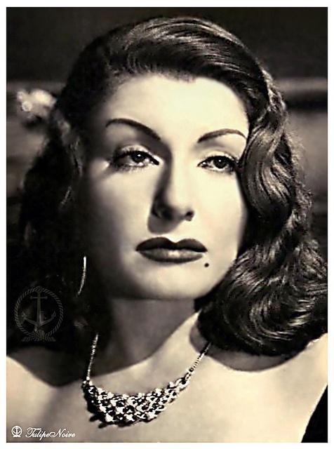 Zouzuo Shakib (1909-1978) - Egyptian actress