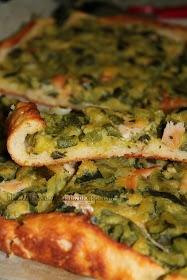 Dukan con Gusto: Torta rustica di zucchine e salmone