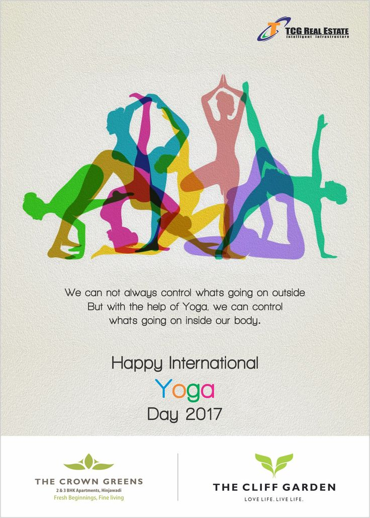 #Health is Wealth! Sun Salutation is Best, Pranayam is Rock, Live #life with big stock!  Happy International Yoga Day!! #Connect. #Integrate. Become One.  #International Day of #YOGA | 21 June  #YogaDay2017 #Fitness