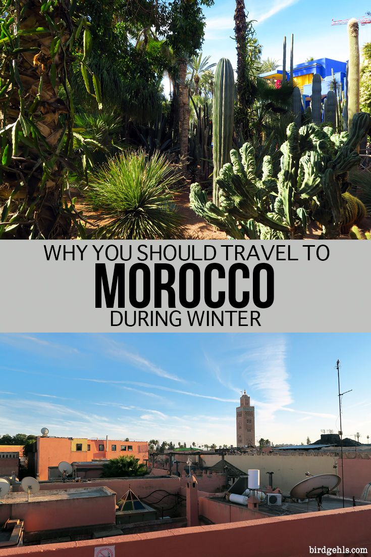 Cloudless skies and perfect weather - here are a few other reasons why you should consider making Morocco your country of choice for a winter destination. #MoroccoTravelTips #Morocco #Marrakech #marrakesh #Travel #NorthAfrica