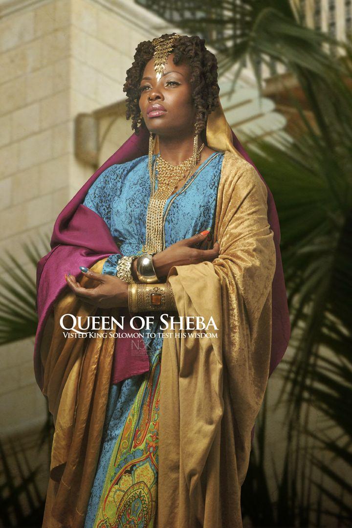 """Queen of Sheba: Noir Bible"" by International photographer James C. Lewis"