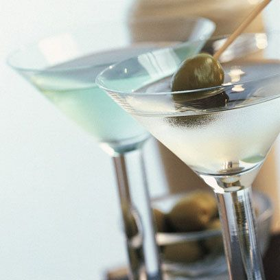 Dirty Martini. Just as popular now as it was in the prohibition era. For the full recipe click the picture or visit redonline.co.uk