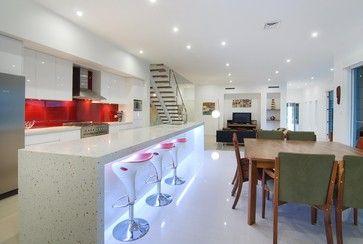 House Designs - interior areas - modern - kitchen - brisbane - Blueprint Designs Building Designers