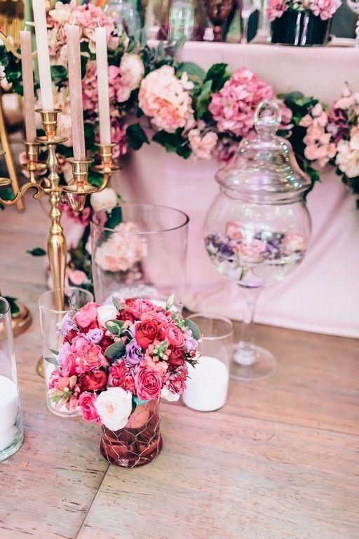 Свадебное оформление. Декор Jennyart, Флористика Flowers Cafe, цветочное оформление