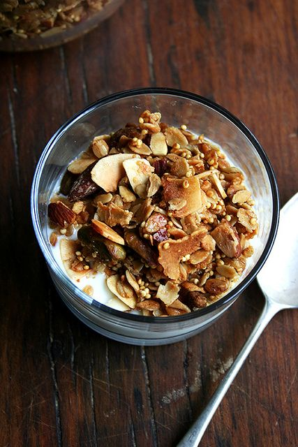 Toasted Muesli with Millet & Coconut - @Jessica Lee, Nevada City cabin breakfast?