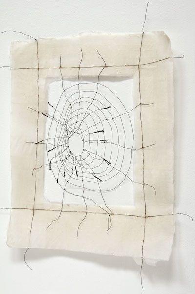 Mari Andrews - Volcanic, 2007 paper, wire 29 x 23 x 7 in