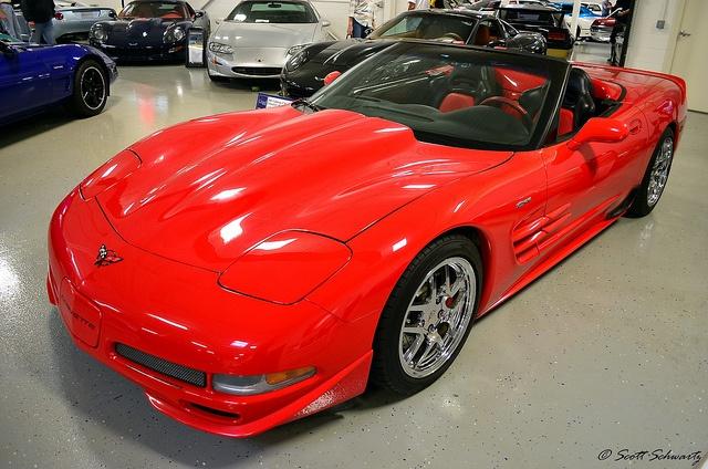 Skunk Werkes 2002 Corvette Z06 Roadster. From the Ligenfelter Collection