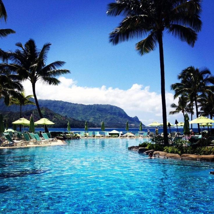 "St. Regis Princeville Kauai, Hawaii. Amazing!!!! was there 1994! Back then it was a Sheraton Luxury Resort, called ""Princeville Resort"""