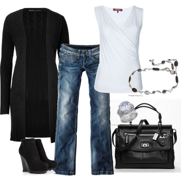 Weekender...: Style Clothesshoesaccessori, Shoes Rest, Black And White, Long Sweaters, Black White, Jeans Size, Black Sweaters, Classic Black, My Style